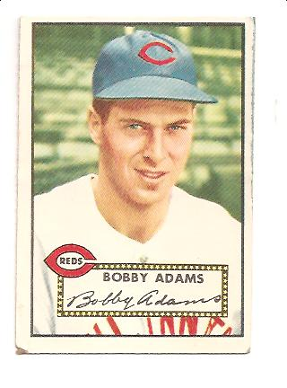 1952 Topps #249 Bobby Adams