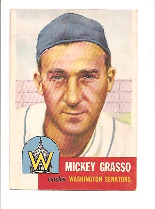 1953 Topps #148 Mickey Grasso