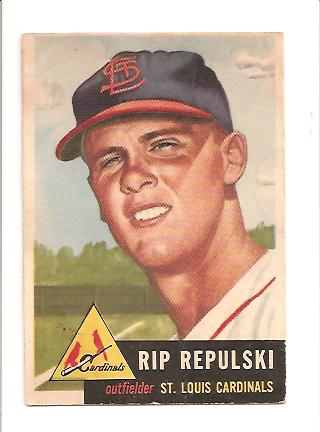 1953 Topps #172 Rip Repulski RC