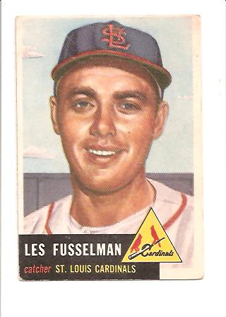 1953 Topps #218 Les Fusselman