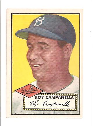 1952 Topps #314 Roy Campanella