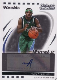 2006-07 Topps Trademark Moves #103 Maurice Ager AU/149 RC