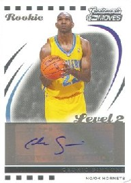 2006-07 Topps Trademark Moves #137 Cedric Simmons AU/149 RC
