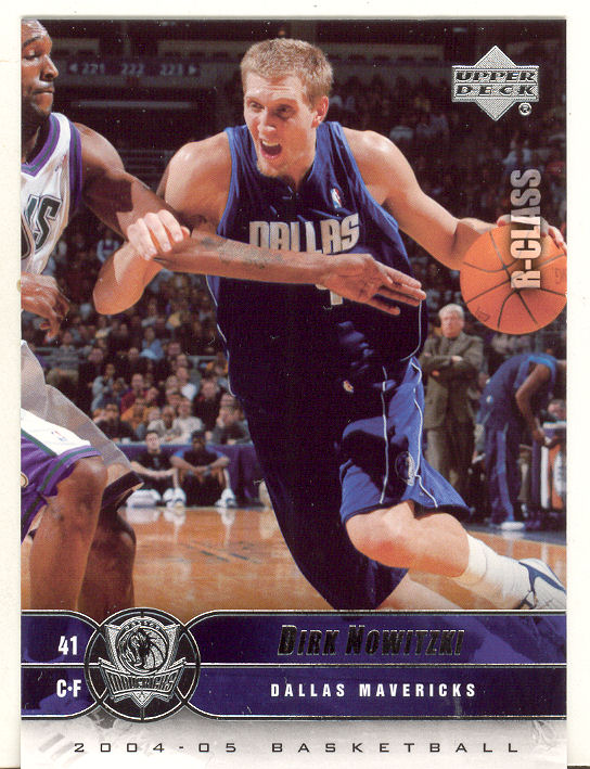 2004-05 Upper Deck R-Class #16 Dirk Nowitzki