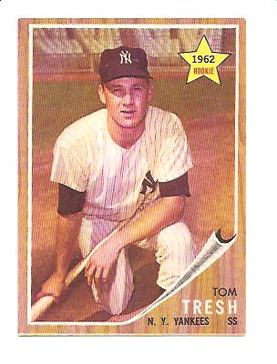 1962 Topps #31 Tom Tresh RC