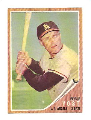 1962 Topps #176B Eddie Yost Batting