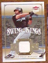 2007 Ultra Swing Kings Materials #VW Vernon Wells
