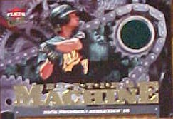 2007 Ultra Hitting Machines Materials #NS Nick Swisher