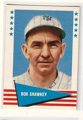 1961 Fleer #139 Bob Shawkey
