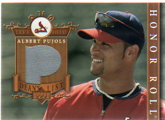 2003 Upper Deck Honor Roll Dean's List Jerseys #AP1 Albert Pujols P