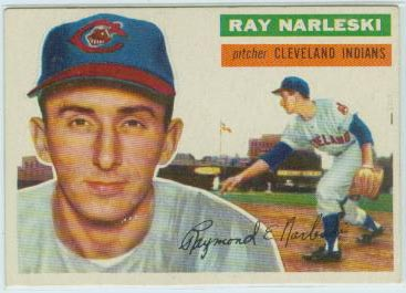 1956 Topps #133 Ray Narleski