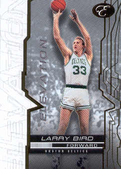 2007-08 Bowman Elevation #41 Larry Bird