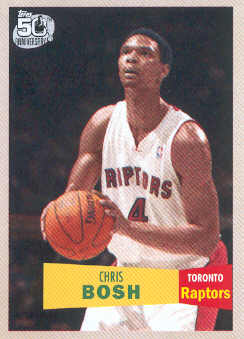 2007-08 Topps 1957-58 Variations #4 Chris Bosh