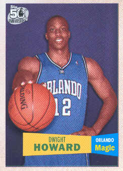 2007-08 Topps 1957-58 Variations #14 Dwight Howard
