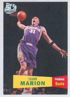 2007-08 Topps 1957-58 Variations #31 Shawn Marion