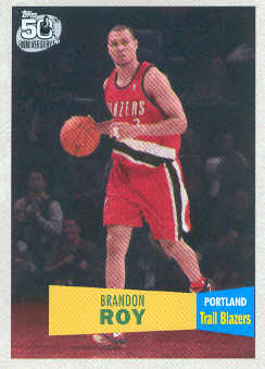 2007-08 Topps 1957-58 Variations #107 Brandon Roy