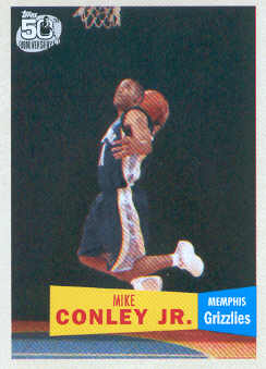2007-08 Topps 1957-58 Variations #114 Mike Conley Jr.