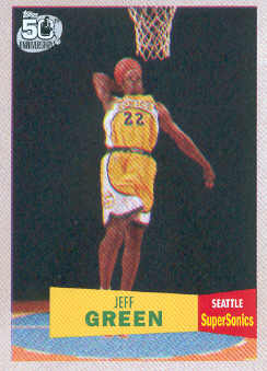 2007-08 Topps 1957-58 Variations #115 Jeff Green