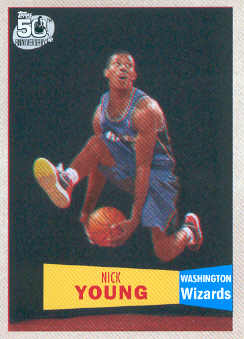 2007-08 Topps 1957-58 Variations #126 Nick Young