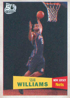 2007-08 Topps 1957-58 Variations #127 Sean Williams