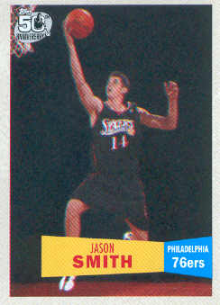 2007-08 Topps 1957-58 Variations #130 Jason Smith