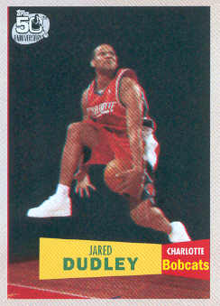 2007-08 Topps 1957-58 Variations #132 Jared Dudley