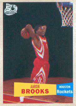 2007-08 Topps 1957-58 Variations #135 Aaron Brooks