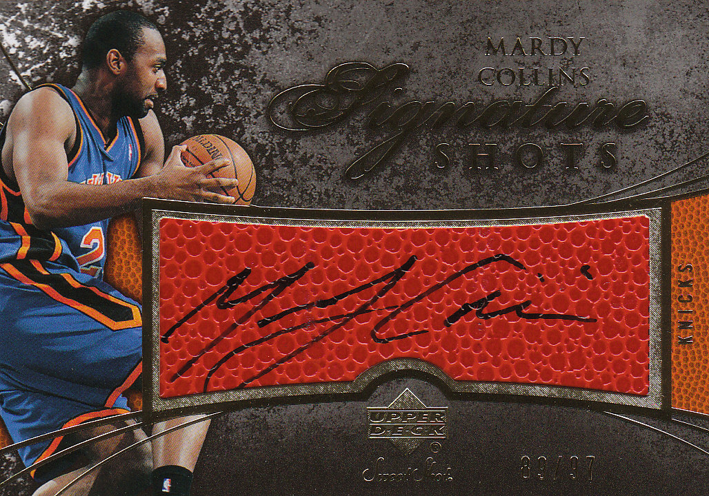 2007-08 Sweet Shot Signature Shots #MC Mardy Collins/195 front image