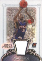 2006-07 Bowman Sterling Refractors #24 Shawn Marion JSY