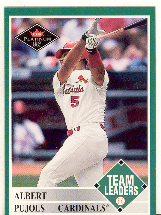 2001 Fleer Platinum #435 Albert Pujols TL