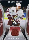 2006-07 SP Game Used Authentic Fabrics #AFEJ Ed Jovanovski