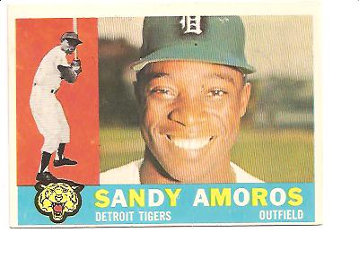 1960 Topps #531 Sandy Amoros EXMT Actual scan