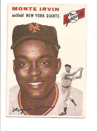 1954 Topps #3 Monte Irvin