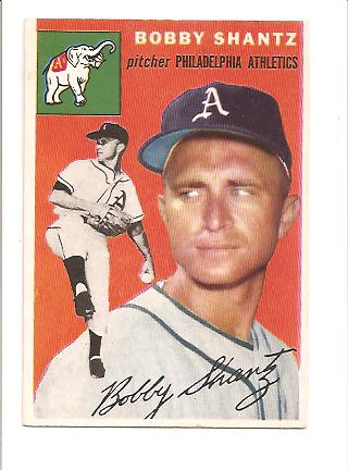 1954 Topps #21 Bobby Shantz