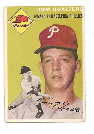 1954 Topps #174 Tom Qualters RC