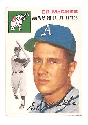1954 Topps #215 Ed McGhee