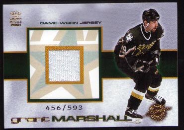 2000-01 Crown Royale Game-Worn Jerseys #10, Grant Marshall /593
