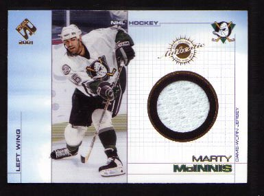 2000-01 Pacific Private Stock Game Gear Jersey #2, Marty McInnis