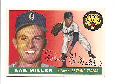 1955 Topps #9 Robert Miller