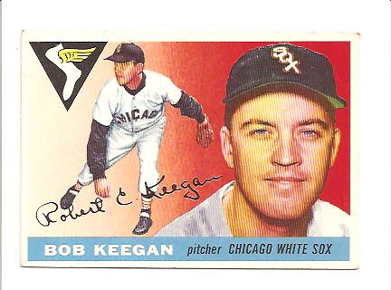1955 Topps #10 Bob Keegan