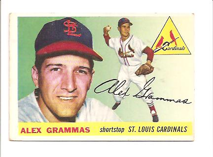 1955 Topps #21 Alex Grammas