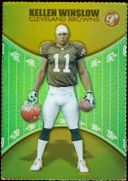 2004 Topps Pristine Gold Refractors #103 Kellen Winslow U