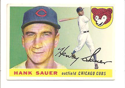 1955 Topps #45 Hank Sauer