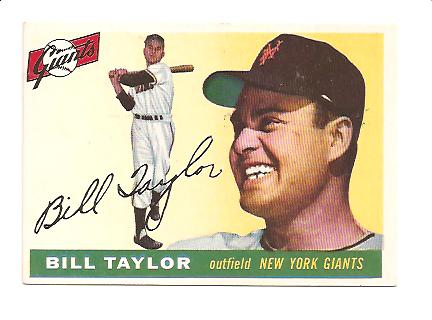 1955 Topps #53 Bill Taylor
