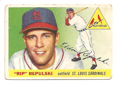 1955 Topps #55 Rip Repulski