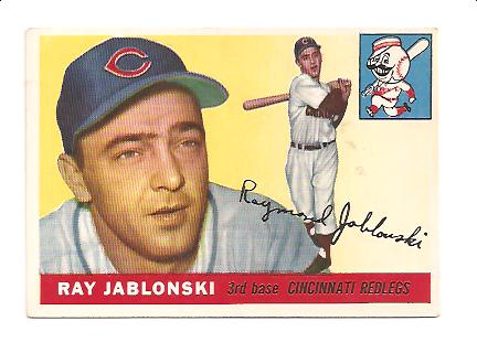 1955 Topps #56 Ray Jablonski