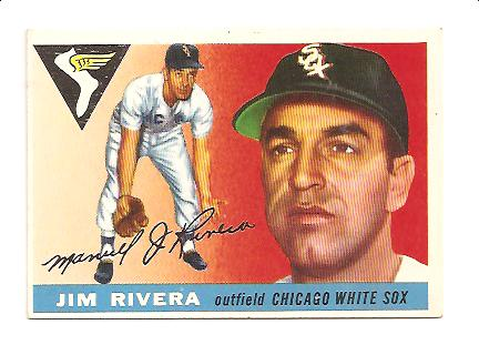 1955 Topps #58 Jim Rivera