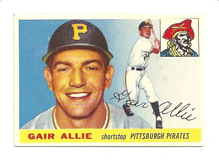 1955 Topps #59 Gair Allie