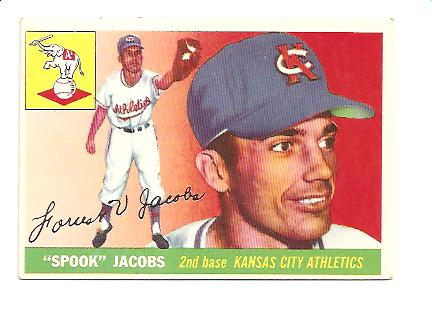 1955 Topps #61 Forrest Jacobs