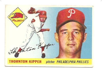 1955 Topps #62 Thornton Kipper
